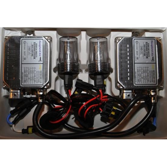 9005 (HB3) 6000K Xenon H.I.D. ombyggingssett