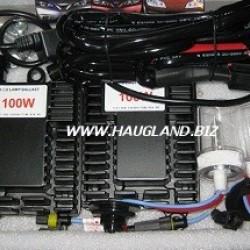 9005 (HB3) 6000K 100W Xenon H.I.D. ombyggingssett - 12V