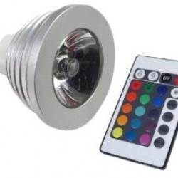 MR16 5W RGB-LED 90gr.