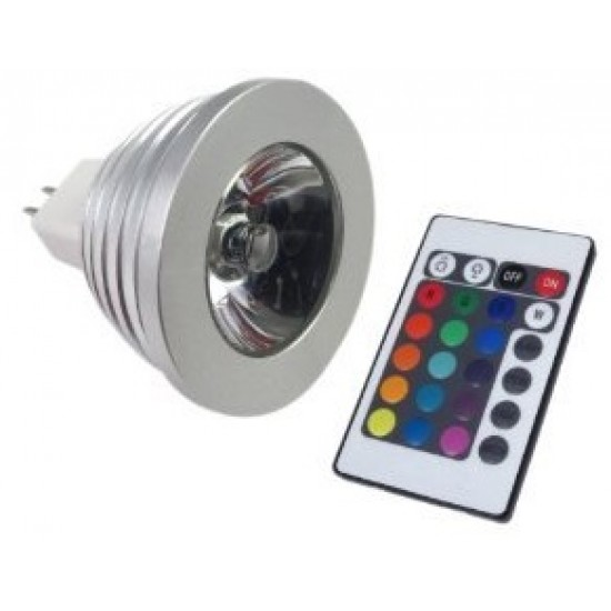 MR16 5W RGB-LED 90gr.