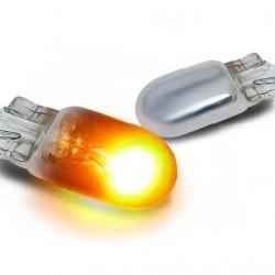 W5W krom blinklyspærer (2 stk.)