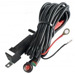 Kabelsett for ekstralys - 1 x 120W