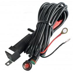 Kabelsett for ekstralys - 2 x 35W