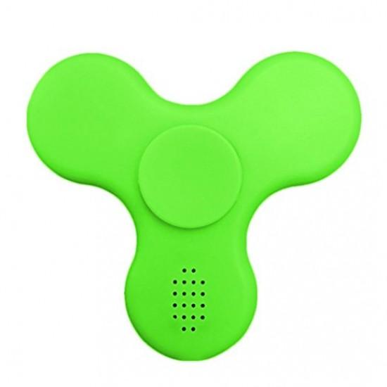 LED Bluetooth Spinner med høyttaler - Grønn