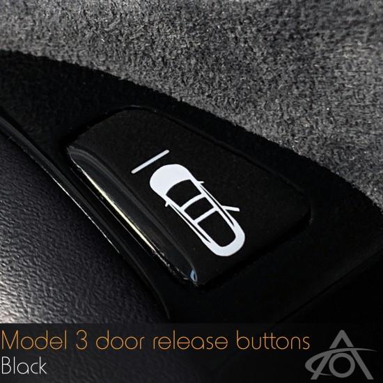 Knapp for døråpnere Tesla Model 3