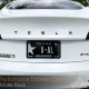 Tesla Performance Emblem - Matt Sort
