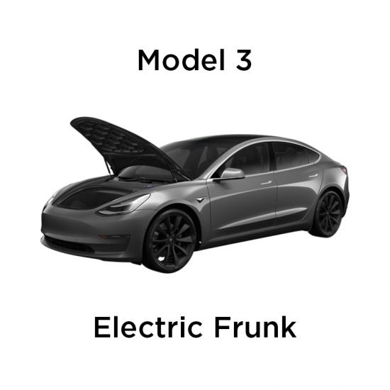 Elektrisk åpning/lukking av front trunk - Tesla Model 3