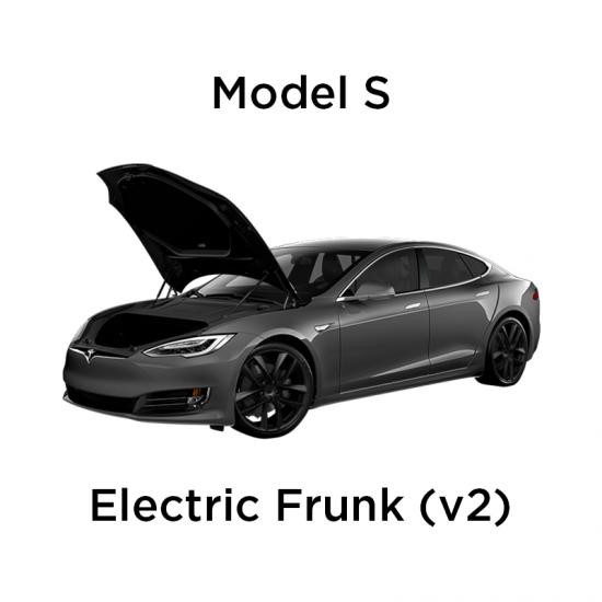 Elektrisk åpning/lukking av front trunk - Tesla Model S Facelift