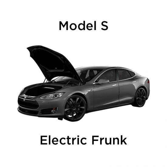 Elektrisk åpning/lukking av front trunk - Tesla Model S Pre-facelift