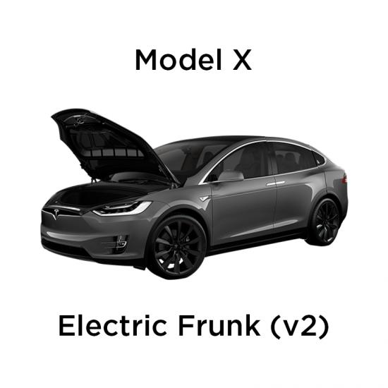 Elektrisk åpning/lukking av front trunk - Tesla Model X