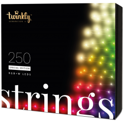 Twinkly Strings 2 Smart julebelysning 250 LED RGB+W - Demo