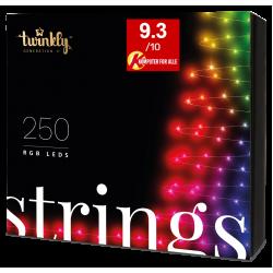 Twinkly Strings 2 Smart julebelysning 250 LED RGB - Demo