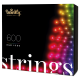 Twinkly Strings 2 Smart julebelysning 600 LED RGB