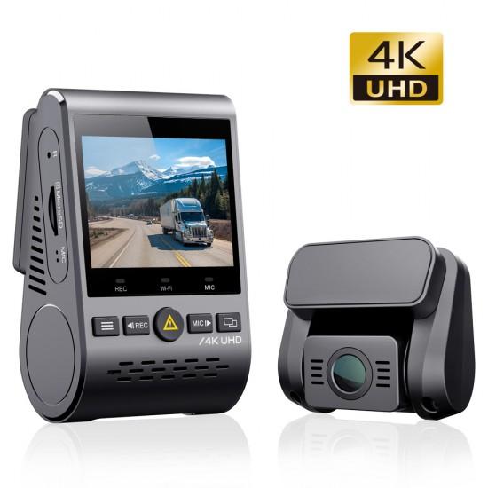VIOFO A129 PRO DUO 4K UHD 2-CH dashbordkamera med GPS